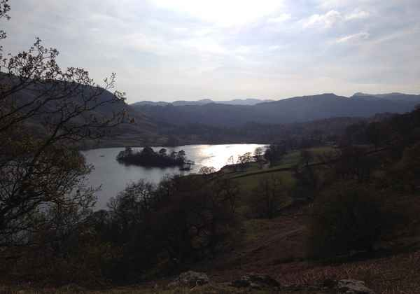 Picnic above Rydal Water